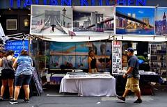 The Fate of Photographs (sjnnyny) Tags: nyc downtown tourists timessquare signage fleamarket streetfair streetvendor citystreet theaterdistrict theatredistrict stevenj bargainhunters cheapartforsale sjnnyny pentaxk3tamron2875f28lens