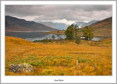 Loch Arklet In Autumn (flatfoot471) Tags: autumn landscape scotland unitedkingdom normal trossachs stirlingshire 2014 inversnaid