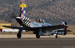 """Reno Air Races 2015 - Stewart S-51D Mustang """"Beautiful Doll"""" N351KW (g_takeuchi) Tags: sport race plane airplane airport aircraft aviation nevada airplanes aeroplane airshow stewart american planes mustang nationalchampionship reno rts races aeroplanes racer airdisplay airraces 2015 stead airrace airracing sportclass propblur beautifuldoll s51d dsc7893c n351kw"""