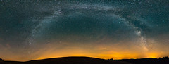 Summer milky way (didiervh) Tags: france stars sagittarius astronomy bourgogne morvan lightpollution scorpius milyway