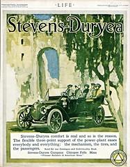 1912 Stevens-Duryea Five-Passenger Touring (aldenjewell) Tags: five ad stevens passenger 1912 touring duryea