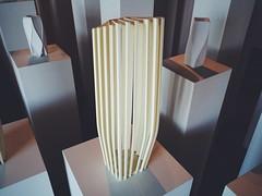 zaha hadid (Alexey Tyudelekov) Tags: building architecture model petersburg exhibition plastic form hermitage zaha hadid zahahadid