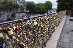 Love Locks in Paris (peterr2011) Tags: bridge boy paris france love girl friend pentax lock romance inlove k50 pentaxart
