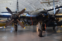 Northrop P-61C Black Widow (raphaelbrescia) Tags: museum virginia smithsonian museu aviation hangar boeing hazy chantilly udvar