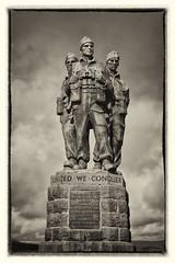 (roger g1) Tags: blackandwhite usmc scotland highlands memorial military soldiers commando speanbridge royalmarines unitedstatesmarinecorp