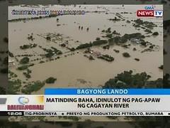 BT: Matinding baha, idinulot ng pag-apaw ng Cagayan River (thenewsvideos) Tags: river cagayan baha matinding idinulot pagapaw