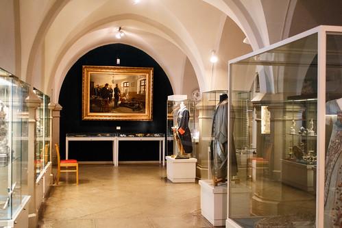 Salle d'exposition du château de Hohenzollern