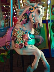 RCCL Oasis of the Seas Rose Horse (Nancy D. Brown) Tags: roses horse carousel royalcaribbean carouselhorse rccl oasisoftheseas