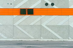 Lines #292/365 (A. Aleksandraviius) Tags: street urban orange abstract building art oneaday wall 35mm lights nikon day factory background sigma photoaday 365 lithuania pictureaday sigma35 project365 365days d810 dayphoto daypicture 292365 nikond810 365one sigma35mmf14dghsmart 3652015