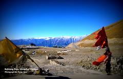 Rohtang Pass (Parag Vijra) Tags: travel terrain india mountains river photography pass flags roads himalaya manali rohtangpass himachal prayers beas letsgo himachalpradesh traveler rohtang highestpass riverbeas paragvijra creativecanvasentertainment
