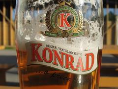 """Glas of Beer Konrad Vratislavice """"Vratislavicke pivo"""" Glas Logo K IMG_3182 (vratsab) Tags: praha glasofbeer konrad vratislavice vratislavickepivo glas logo k beer bier pivo cerveza"""