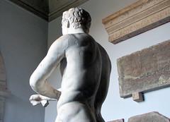 Lysippos, Apoxyomenos, back