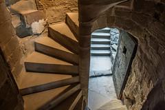 Foix-03571 (sjb263) Tags: france castle stairs spiral interior steps chateau fr foix midipyrénées