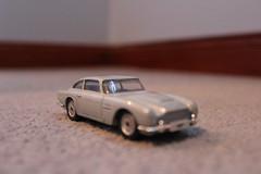 Aston Martin DB5 3 (grahamrobertson1993) Tags: car closeup toy carpet grey james model close martin bond aston 007 db5