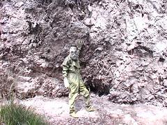 gumotrip (gumovnik) Tags: walk rubber gasmask drysuit hazmat guma oblek gumový