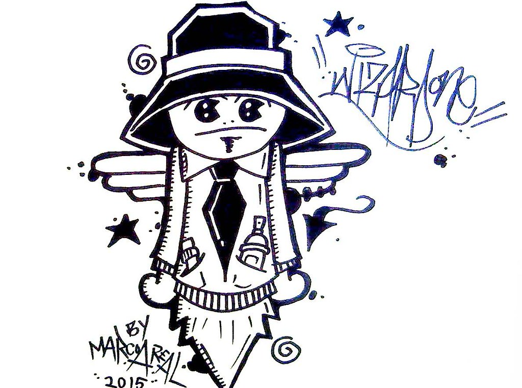 Graffiti Characters Gangster By Wizard | www.imgkid.com ...
