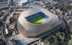 Проект нового стадиона для футбольного клуба «Челси» от Hezog & de Meuron