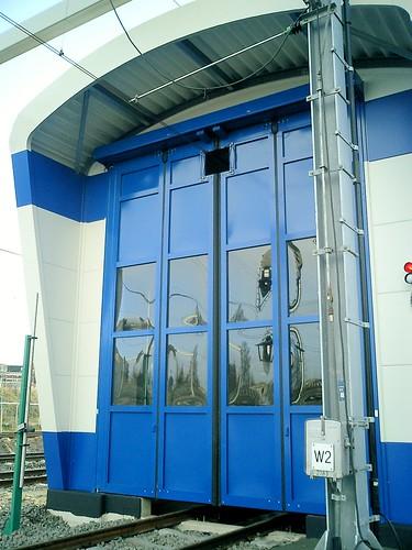 Складчасті швидкісні ворота для депо SFT Efaflex
