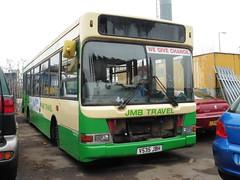 Nottingham Coaches V535 JBH (JIG2164) Tags: nottingham london pointer dennis dart coaches sovereign 535 slf colwick plaxton v535jbh