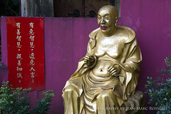 Man Fat Tsz (jean-marc rosseels) Tags: colors canon hongkong budha boudha boudhist boudhism jeanmarcrosseels