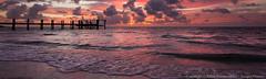 Sunrise Panoramic, Marathon Key (3scapePhotos) Tags: america keys usa unitedstates atlantic beach beaches caribbean clouds coast coastal coastline coastlines dawn dock dramaticlight dusk evening florida glow gulfcoast gulfofmexico island landscape landscapes morning nature ocean panorama panoramic pier purple scenic scenics sea seashore seaside shore sky summer sunrise sunset travel tropical tropics vacation violet waves wideangle