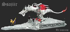 TT17 R1: Ssajiir (jaapxaap) Tags: dragon wyvern lego ssajiir jaapxaap tourney medieval fantasy beast warrior