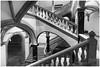 Neo-Renaissance (ustrassmann) Tags: renaissance architektur treppe sw blackwhite historisch gebäude säulen geländer gewölbe