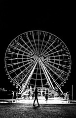 La Estrella de Puebla (David_02863) Tags: mejores noria rueda ruedadelafortuna ruedadechicago wheel puebla méxico nikon d5100 blackwhite night noche blanconegro atraccion attraction chicagoswheel vueltaalmundo