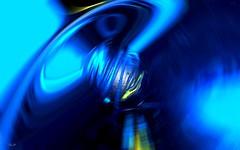Imagine Pre-Earth - Imagine la Terre, avant. (Emmanuelle Baudry - Em'Art) Tags: space espace terre earth cosmos cosmic cosmique univers vision rêve dream astronomy astronomie sf sciencefiction scifi futurism futur avant before creation emmanuellebaudry emart blue bleu nuit night lumière light
