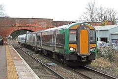 172215 Class 172 Turbostar DMU (Roger Wasley) Tags: 172215 class 172 turbostar dmu diesel multiple unit london midland railway lmr malvern link station worcestershire whitlocks end great trains railways