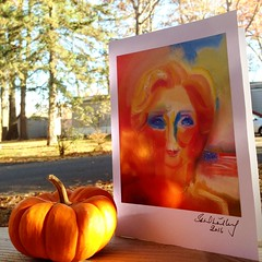 Hope & Light in the USA. 2016 by Stephen B. Whatley (Stephen B. Whatley) Tags: art expressionism usa us upstatenewyork ny cliftonpark fall autumn election2016 electoralcollege hillaryclinton presidentelect pumpkin thanksgiving sunlight light trees beauty bluesky stephenbwhatley artiststephenbwhatley peace unity hope love starsandstripes americana america godblessamerica whatley stephenwhatley abigfave anawesomeshot blueribbonwinner