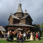 Open-air Museum of Wooden Architecture Vitoslavlitsy