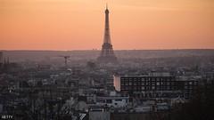 """برج إيفل """"يظلم"""" تضامنا مع حلب (ahmkbrcom) Tags: باريس مدينةحلب"""