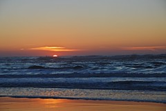 DSC_4234 (mrsdyvz) Tags: sun portugal aveiro nikon d3200 sundown portrait model beach sand sea ocean water waves glasses rock silhouttes horizon harmony sky blue clouds costa nova praia
