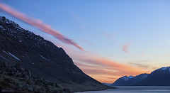 As the clouds wave good night to the Westfjords (lunaryuna) Tags: iceland northwesticeland westfjords landscape seascape mountainrange natureabstract sky clouds sunset cloudscape mountain textures rockface lightmood nightfall sundown lunaryuna