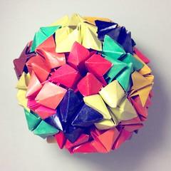 Origami Pansy (Sat Teixeira) Tags: origami 折り紙 papiroflexia paperfolding dobradura paperart folding folds dobras art arte おりがみ makoto yamaguchi