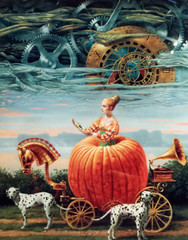 Time To Be A Queen (Yuri Dedulin) Tags: 12nightmediterranean 2016 art artgallery yuridedulin michaelcheval surrealistic oil paintings drawings portraits newyork artist enigmatic surrealism absurdity dutch flemish compositions modernart
