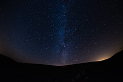 Milky Way (Howie Mudge LRPS) Tags: night sky stars galaxy constellations clear lightpollution silhouette hill mountain astro astrophotography longexposure fforddddu llanegryn gwynedd wales cymru uk samyang fuji fujifilm fujifilmxt1 fujixt1 compactsystemcamera mirrorlesscamera