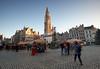 Antwerp on a cold winterday. Grote Markt (grepe) Tags: antwerpen cityscape gebouw kerk ~type ~waar ~wat