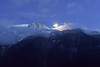 Mont Blanc (lauraisokoski) Tags: mountain alps night moon montblanc france nightsky europe travel