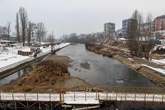 Ibar seen from the bridge, Mitrovica (Timon91) Tags: serbia servië serbien servie србија србије srbije srbija kosovo kosova kosovë косово mitrovica mitrovicë kosovska sever митровица косовска север