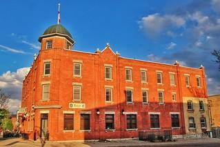 Stratford Ontario  ~  Queen's Inn ~ Heritage Building ~ Landmark
