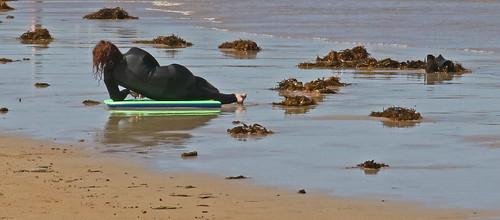 20170122_1129 relaxing surfer at Ocean Grove