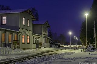 Hasselfelde - station, 26-01-2017