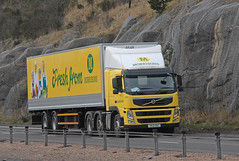 VOLVO - Morrisons Supermarkets  YK12 GBZ (john_mullin) Tags: scotland scottish british uk truck trucks trucking lorry lorries hgv commercials transport vehicle vehicles goods distribution freight haulage supply delivery logistics cairneybraes a9 perthshire perthkinross