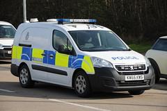 Humberside Police Ex Demonstrator Peugeot Partner Cell Van (Ben Greenwood 999) Tags: humberside police ex demonstrator peugeot partner cell van kw65kws hull