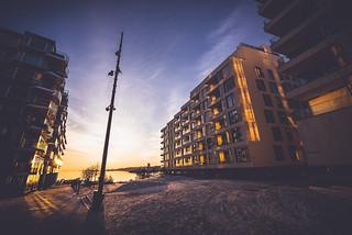 Sunset sur Oslo