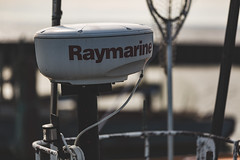 Raymarine (Tony Webster) Tags: michigan paradise raymarine upperpeninsula whitefishbay antenna boat fishingvessel lakesuperior marineradar radar radarscanner radome satellite scanner ship unitedstates us