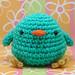 Amigurumi Turquoise Chickie Bird