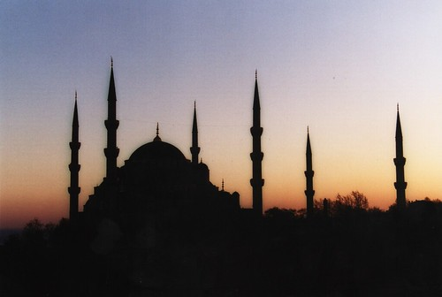 Sunset in Istanbul by Nick Leonard